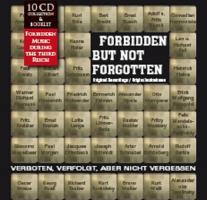 Verboten, Verfolgt aber nicht vergessen - Originalaufnahmen - ( 10 CD - Box)