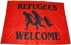 Refugees welcome (rot)