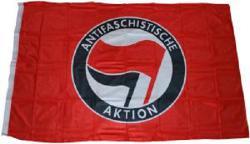Antifaschistische Aktion (rot/schwarz)