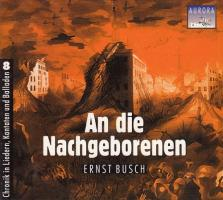 An die Nachgeborenen - (CD)