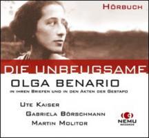 Das OLGA BENARIO PROJEKT - Lesung und Hörbuch über ein Holocaust-Opfer und seine Mörder - (CD)