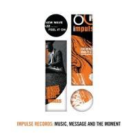 Impulse Records: Music, Message And The Moment - (4 LP-Box - Stabile Box mit Klappdeckel, 4 LPs in Papp-Lochhüllen, zwei Booklets, LP-Slipmat mit Impulse-Logo)
