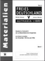 Zeitschrift der antifaschistischen Emigration erschienen in Mexiko von November 1941 bis Juni 1946 (Buch - 480 Seiten, Band 3: Dez. 1943 - Nov. 1944)