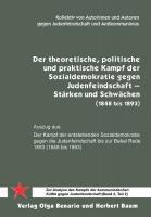 Der theoretische, politische und praktische Kampf der Sozialdemokratie gegen Judenfeindschaft - (Buch, 260 Seiten)