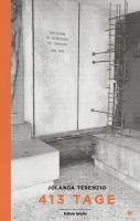 413 Tage - (Buch, 14 x 22 cm | Hardcover | 300 Seiten - VÖ: ende Juli 2021)